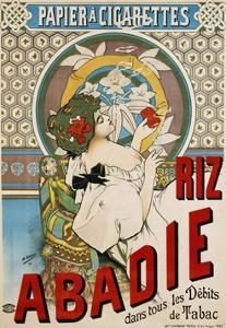 Riz Abadie Poster by H. Gray