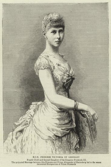 H I H Princess Victoria of Germany--Giclee Print