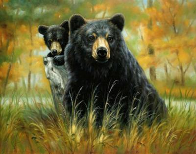 Mother and Cub by H. Kendrick