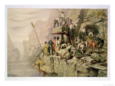 A Stone Quarry, 1833