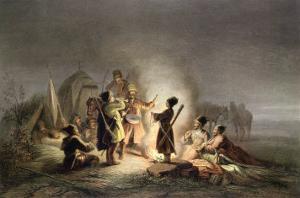 Round the Camp Fire by H. Kretzschmer