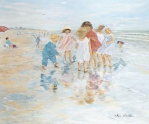 Barefoot at the Seashore by H?l?ne L?veill?e