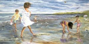 Collecting Seashells by H?l?ne L?veill?e