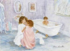 Getting Out of the Bath by H?l?ne L?veill?e