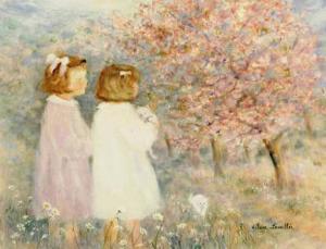 In the Apple Orchard by H?l?ne L?veill?e