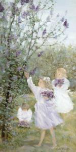Lilac Bouquets by H?l?ne L?veill?e
