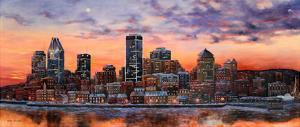 Montreal view by H?l?ne L?veill?e