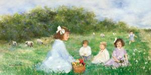 Snack on the Lawn by H?l?ne L?veill?e