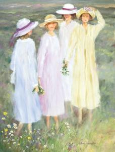 Summer Ladies by H?l?ne L?veill?e