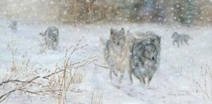 The Wolves' Trail by H?l?ne L?veill?e