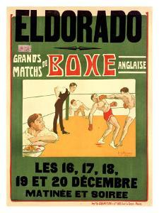 El Dorado, Matchs de Boxe Anglaise by H^ L^ Roowy