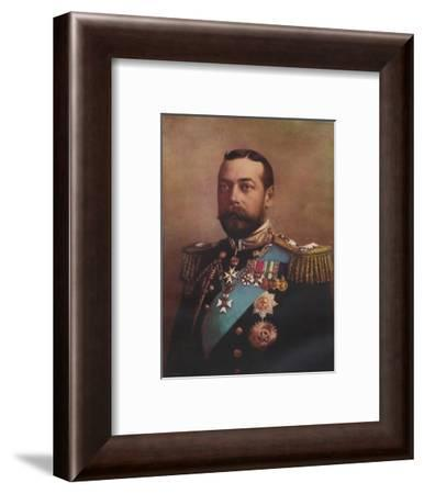 'H.M. King George V', 1917-W&D Downey-Framed Giclee Print