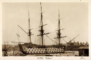 H.M.S. Victory, Sailing Ship, Canonship, Port