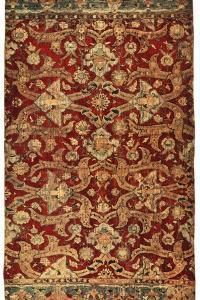 Silk and Gold Carpet, Early 17th Century by H Maclaren