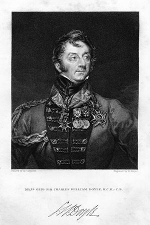 Sir Charles Hastings Doyle (1804-188), British Soldier, 1837