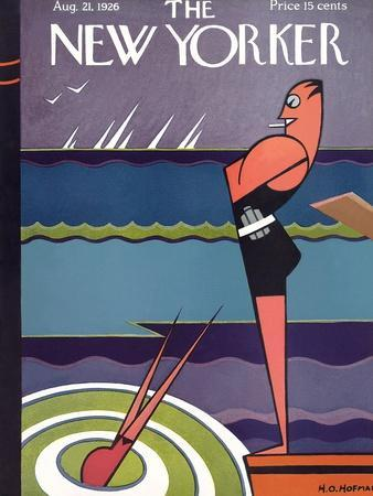 The New Yorker Cover - August 21, 1926