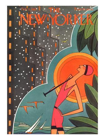 The New Yorker Cover - February 5, 1927