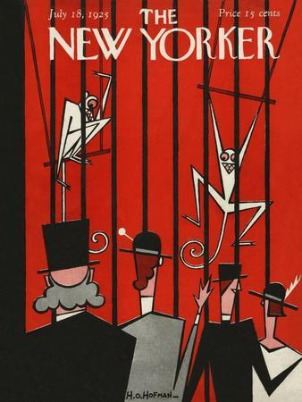 The New Yorker Cover - July 18, 1925