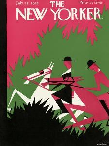 The New Yorker Cover - July 25, 1925 by H.O. Hofman