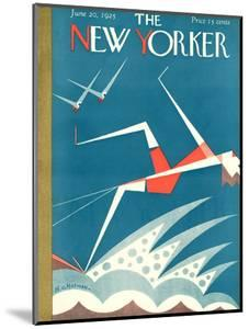 The New Yorker Cover - June 20, 1925 by H.O. Hofman