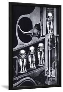 Birth Machine by H^ R^ Giger