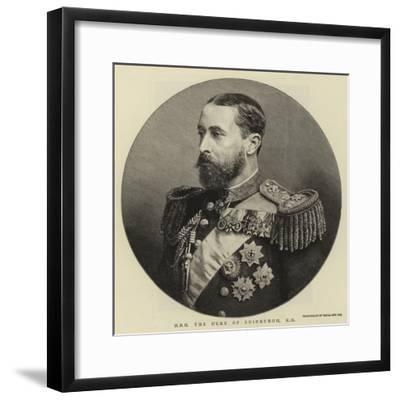 H R H Duke of Edinburgh--Framed Giclee Print