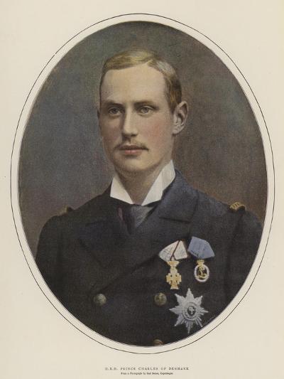 H R H Prince Charles of Denmark--Giclee Print