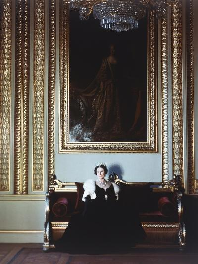 H.R.H.Queen Elizabeth, the Queen Mother-Cecil Beaton-Giclee Print