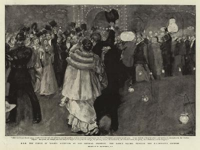 H R H the Prince of Wales's Reception at the Imperial Institute-William Hatherell-Giclee Print