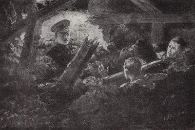 Second Lieutenant Cecil Calvert Unearths and Rescues Two Men from a Mine Gallery