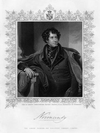 Constantine Henry Phipps, Marquess of Normandy, 19th Century