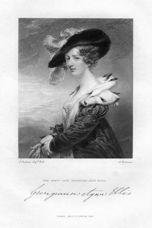 Lady Georgina Agar-Ellis, 19th Century