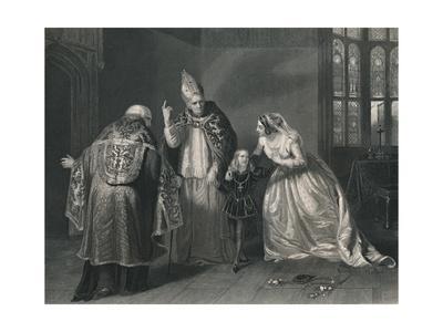 'Queen Elizabeth and the Duke of York. (King Richard III)', c1870