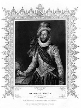 Sir Walter Raleigh, Writer, Poet, Courtier and Explorer