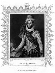 Sir Walter Raleigh, Writer, Poet, Courtier and Explorer by H Robinson