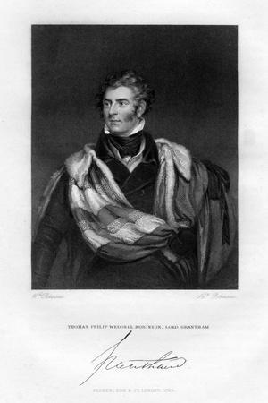 Thomas Philip Weddell Robinson, Lord Grantham, 1829