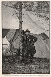 Ulysses S Grant American Civil War General at Headquarters During the Virginia Campaign-H^ Vetten-Premium Giclee Print