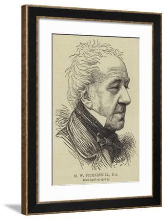 H W Pickersgill--Framed Giclee Print