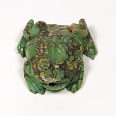 H3931 Turquoise Frog Shaped Snuff Bottle, Qing Dynasty--Giclee Print