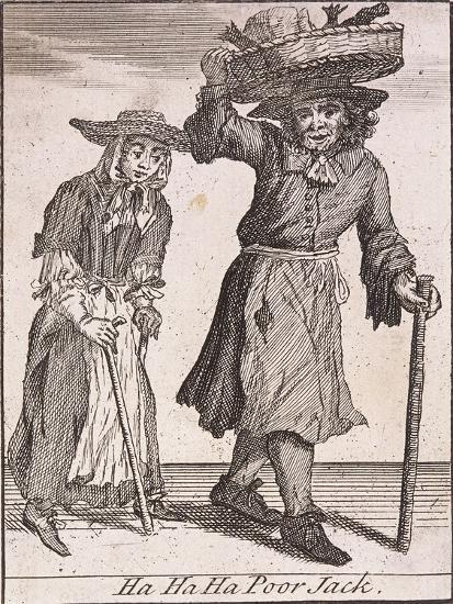 Ha Ha Ha Poor Jack, Cries of London-Marcellus Laroon-Giclee Print