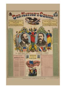 Our Nation's Choice--Gen. James Abram Garfield, Republican Candidate for President, etc. by Haasis & Lubrecht