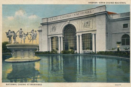 'Habana: Gran Casino Nacional. National Casino at Marianao', 1935-Unknown-Photographic Print