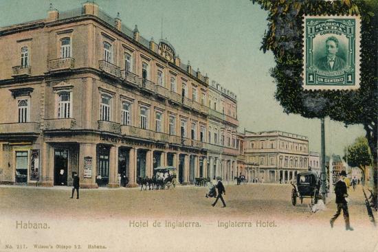 Habana. Hotel de Inglaterra. -Inglaterra Hotel, Cuba, c1910s-Unknown-Giclee Print