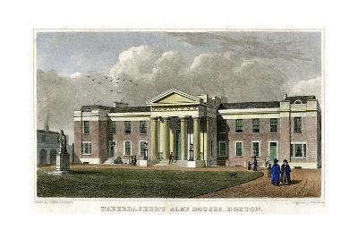 Haberdasher's Alms Houses, Hoxton, Hackney, London, 1828-John Rolph-Giclee Print