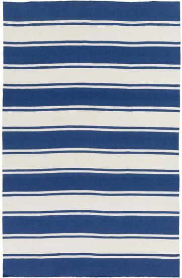 Habersham Area Rug  - Cobalt/Ivory 8' x 10'--Home Accessories