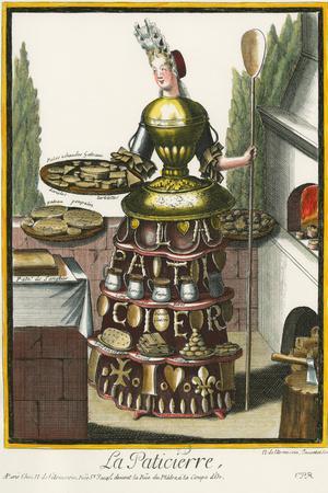 Habit de Paticier (Fantasy Costume of a Confectioner with
