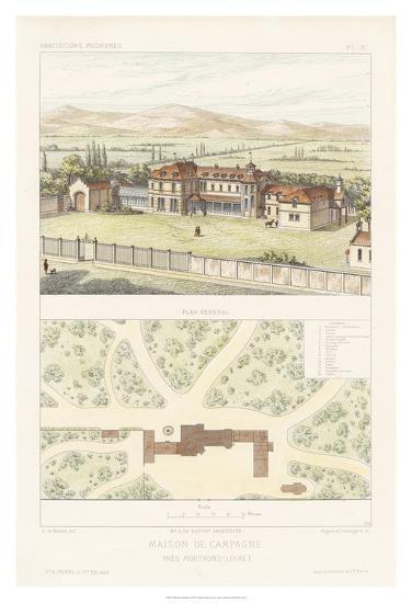 Habitations Modernes I-A^ Morel-Giclee Print