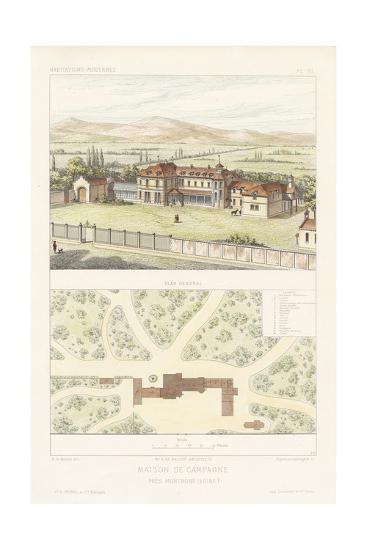 Habitations Modernes I-A^ Morel-Art Print