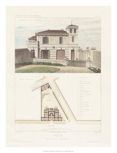 Habitations Modernes III-A^ Morel-Giclee Print