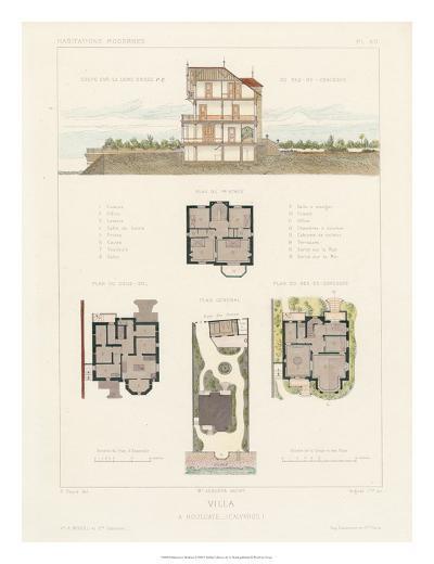 Habitations Modernes V-A^ Morel-Giclee Print